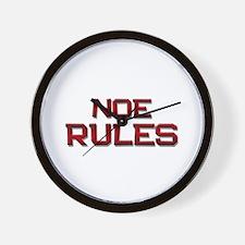 noe rules Wall Clock