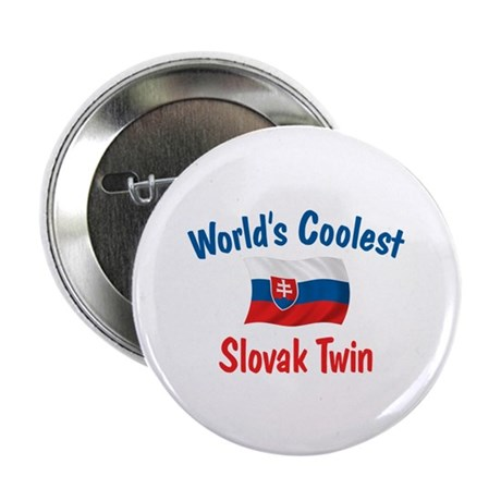 "Coolest Slovak Twin 2.25"" Button (10 pack)"