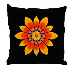 Gazania I Throw Pillow