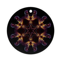 Dying Pansy I Ornament (Round)