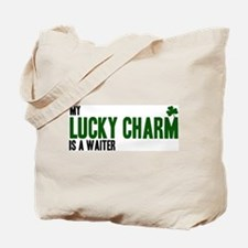 Waiter lucky charm Tote Bag