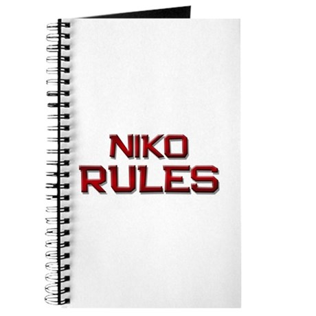 niko rules Journal