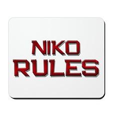 niko rules Mousepad