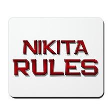nikita rules Mousepad