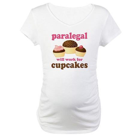 Funny Paralegal Maternity T-Shirt