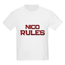 nico rules T-Shirt
