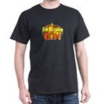 Hot Birthday Girl Black T-Shirt