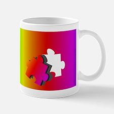 Autism Solving the Puzzle Mug