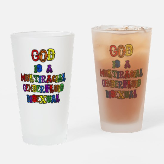 God is a Multiracial Genderfluid Bisexual Drinking