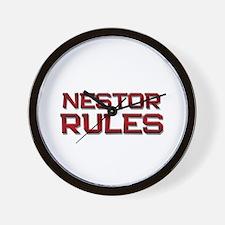 nestor rules Wall Clock