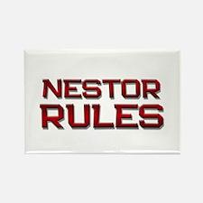 nestor rules Rectangle Magnet