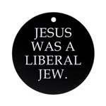 Liberal Jew Ornament (Round)