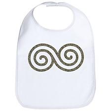 Ancient Stone Spiral Bib
