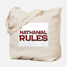 nathanial rules Tote Bag