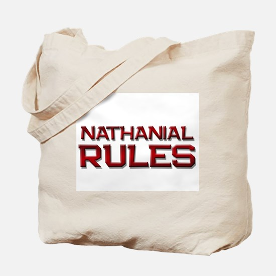 nathanial rules Tote Bag