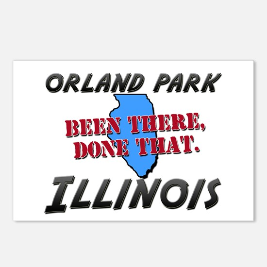orland park illinois - been there, done that Postc