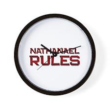 nathanael rules Wall Clock