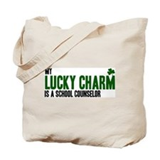School Counselor lucky charm Tote Bag