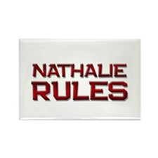 nathalie rules Rectangle Magnet