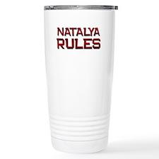 natalya rules Travel Mug