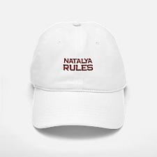 natalya rules Baseball Baseball Cap