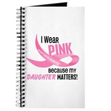 I Wear Pink For My Daughter 33.2 Journal