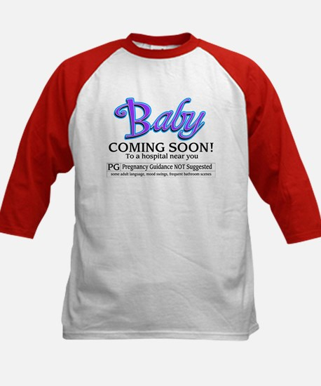 Baby - Coming Soon! Kids Baseball Jersey