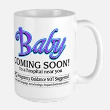 Baby - Coming Soon! Large Mug