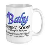 Baby - Coming Soon! Large Mug