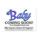 Baby - Coming Soon! Postcards (Package of 8)