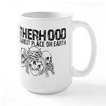 Scariest Place on Earth - Fatherhood Large Mug