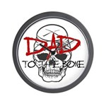 Dad to the Bone Wall Clock