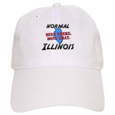 normal illinois - been there, done that Baseball Cap