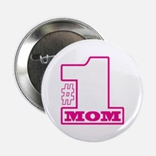 "#1 Mom 2.25"" Button (10 pack)"