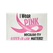 I Wear Pink For My Sister-In-Law 33.2 Rectangle Ma
