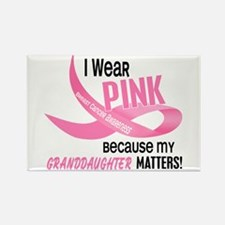 I Wear Pink For My Granddaughter 33.2 Rectangle Ma