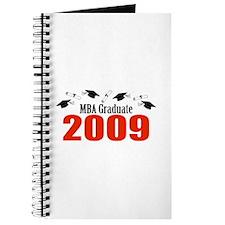 MBA Graduate 2009 (Red Caps And Diplomas) Journal