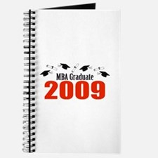 MBA Graduate 2009 (Red Caps And Diplomas) Journal