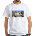 ID Mt. Rushmore White T-Shirt