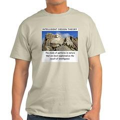ID Mt. Rushmore Ash Grey T-Shirt