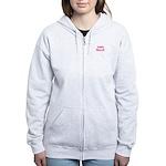 Due In March - Pink Women's Zip Hoodie
