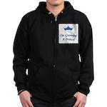 Growing A Price Zip Hoodie (dark)