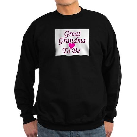 Great Grandma To Be Sweatshirt (dark)
