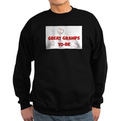 Great Gramps To Be -Baseball Sweatshirt