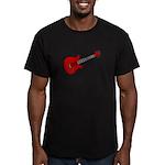 Guitar (Musical Instrument) D Men's Fitted T-Shirt