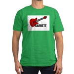 Guitar - Garrett Men's Fitted T-Shirt (dark)