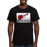 Guitar - Jonathan Men's Fitted T-Shirt (dark)