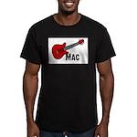 Guitar - Mac Men's Fitted T-Shirt (dark)