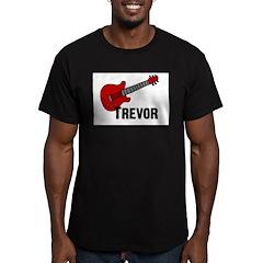 Guitar - Trevor Men's Fitted T-Shirt (dark)