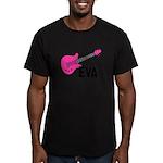 Guitar - Eva Men's Fitted T-Shirt (dark)